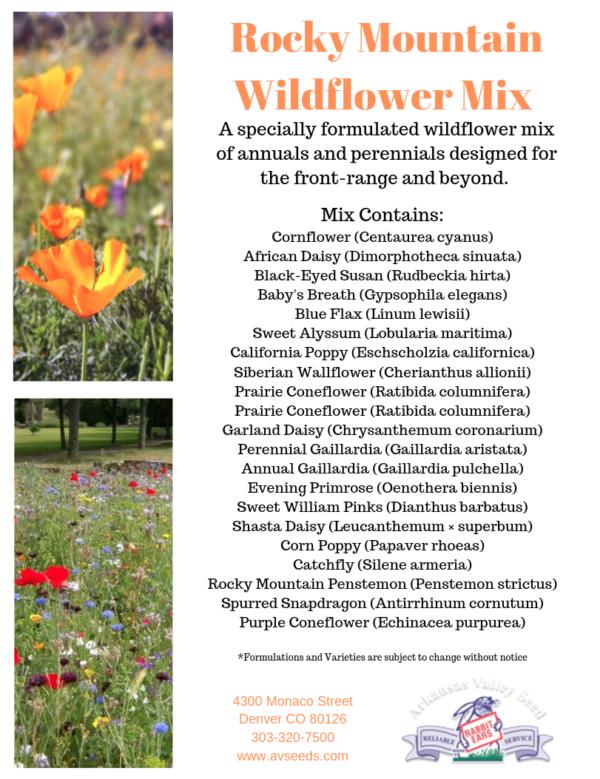 Rocky Mountain Wildflower Mix