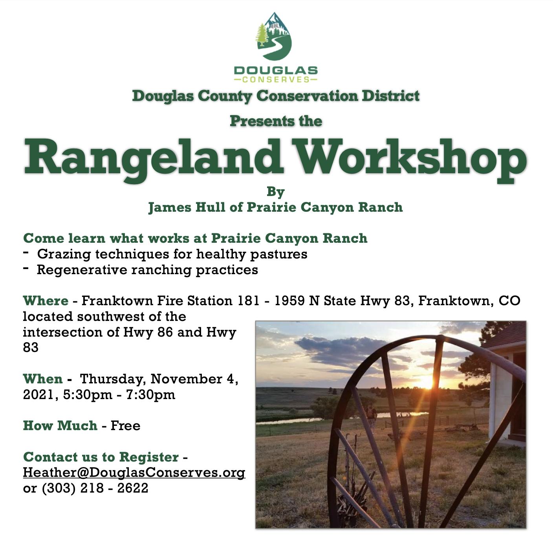 Rangeland Workshop